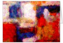 Abstract Art Greeting Cards