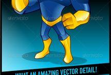 Character Design, Mascot
