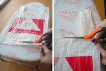 Craft Ideas For Recycling / Methods and crafts to make good use out of all the plastic bags I try not to end up with, but have anyway.