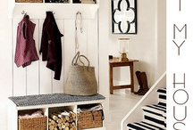 Entry and foyer / Ideas and items to make the back or front entry a little more pleasing and functional