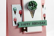 cards - 2016 occasions catalog and sale-a-bration stampin up
