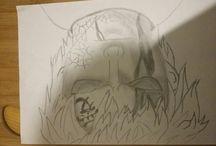 anime skull