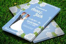 Casamento Noivos Floral Azul