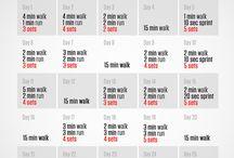 bieg ćwiczenia