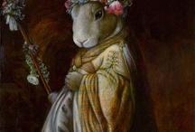 Peintre (Melinda Cooper) / Animalier humanisé