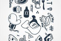 Pattern & Icons Set