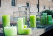 Lifestyle / DutZ collection lifestyle items. Handmade candles, mouthblown hurricanes, candlesticks