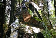 land art and Mirrors