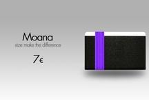Moana / Moana the other side of Smallet! Lo Smallet più sicuro che ci sia, con un comodo elastico evita la fuoriuscita di banconote e carte