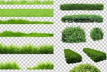 vizualizace_trava_stromy