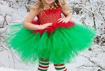 Christmas tutus for Kenna:)