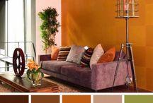 Paletas de color interiores