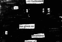 | Black-out Poetry |