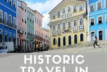 Historic Travel in South America / South America offers a treasure trove for history buffs struck with wanderlust. South American history is so rich that its offerings range from absolutely ancient, pre-Columbian venues to Spanish colonial sites, to monuments to events of the recent past.
