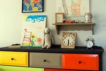 Drawers different colors