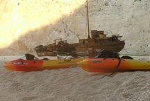 Kayaking at Shipwreck Zakynthos / Sea kayaking
