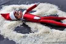 Elf on the shelf / I luv u!
