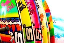 Surff  / Surf boards, surfer dudes, surfer chicks