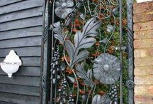 Bahçe kapı