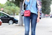 OOTD - F L O R A L / by Xime Vargas Aizcorbe