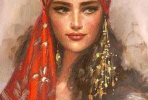 Gypsy/Cigana/Bohemia / Gypsy and bohemian art. Culture.