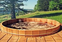 Outdoor hottub