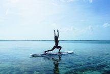 Standup Paddle Yoga