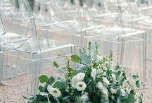 CEREMONY / Wedding ceremony decor including arches, chuppahs, altars, installations and aisle decor.