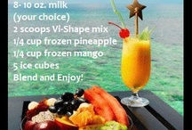 Meal planning and shakes. / by Abby Hattery