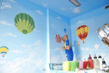 ASILI DIPINTI / Asili personalizzati dall' artista SILVIO IRILLI per accogliere i bambini nel Mondo della Fantasia
