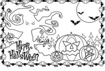 colorear Halloween