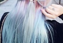 Pastel Unicorn Hair / Pastel hair colors that makes you feel like a unicorn.
