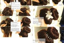 hairstyles / hairstyle tutorials