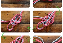 Шнурки, узлы
