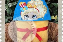 French Frills Birthday Bash Wish List / Creative designs for hooded towels