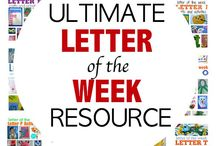 Letter of the week unit