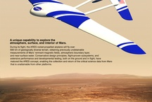 """Mars Aviation / Exploring propulsion, materials, weather, navigation, life support airport/facility requirements, and other design and logistic considerations for aircraft operating in the Mars atmosphere -- both Unmanned Aerial Vehicles (UAV's or """"drones"""") and human-occupied aircraft design possibilities."""
