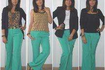 4 jeitos de usar - 4 ways to wear
