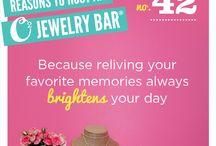 Origami Owl Jewelry Bar / Jewelry