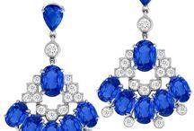 diamond earrings / style