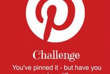I Can Pinterest / A Pinterest Challenge - do one thing a week from stuff you've pinned.  Choose how long you want to go and share your results with the world!