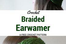 braied ear warmer