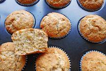 Bananen nuss muffins