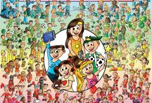 """Cute children's books / The Cutes, """"Hey everyone! Like our book? Then you will also like these children's books. These books for kids are fun! Take a look."""""""