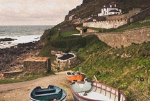 DAY TRIPS - ST. JUST, WEST CORNWALL / Including Botallack, Cape Cornwall, Cot Valley, Geevor, Levant.  About 92 miles (2 hrs 10 mins) from us.