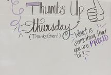 Whiteboard writing prompts