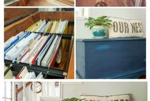 DIY Repurposed / Upcycled Organization Projects
