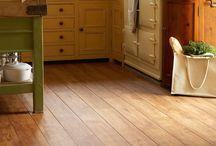 Kitchen lino floor