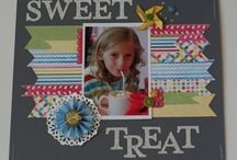 Scrapbook pages/layouts