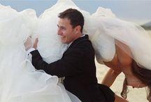 Trash the Dress! / Joyful brides at play!